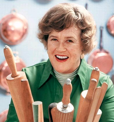 The real McCoy - Julia Child in her element
